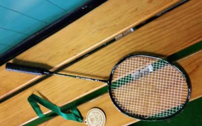 Na srednješolskem tekmovanju v badmintonu