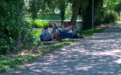 Pouk slovenščine in umetnosti na terenu – 26. 5. 2017