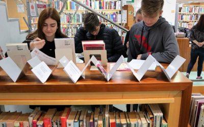 1. letniki na obisku Splošne knjižnice Bežigrad