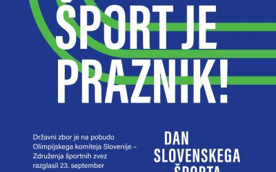 Dan slovenskega športa – 23. 9. 2020