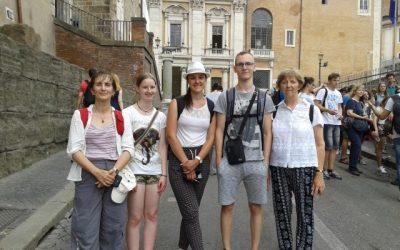 Mladi raziskovalci na izletu v Italiji