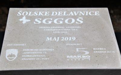 Polaganje temeljnega kamna za nove šolske delavnice – 30. 5. 2019