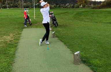 Odprto srednješolsko prvenstvo Ljubljane v igranju golfa