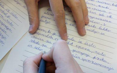 Teden pisanja z roko
